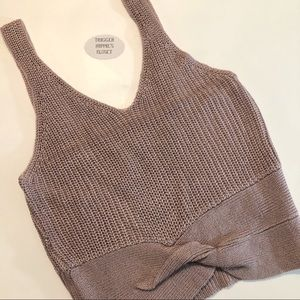 Love Tree Tops - Knitted sweater tank